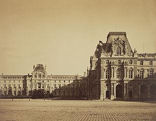 Mollien Pavilion, the Louvre