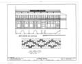 Gutierrez Building, 1603 East Seventh Avenue, Tampa, Hillsborough County, FL HABS FLA,29-TAMP,11- (sheet 2 of 3).png