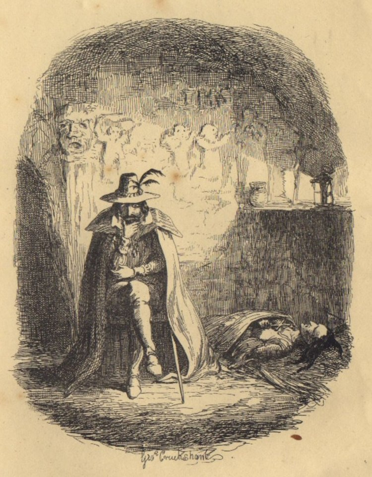 Guy Fawkes by Cruikshank