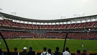Kia Tigers - Gwangju-Kia Champions Field, home field of Kia Tigers.