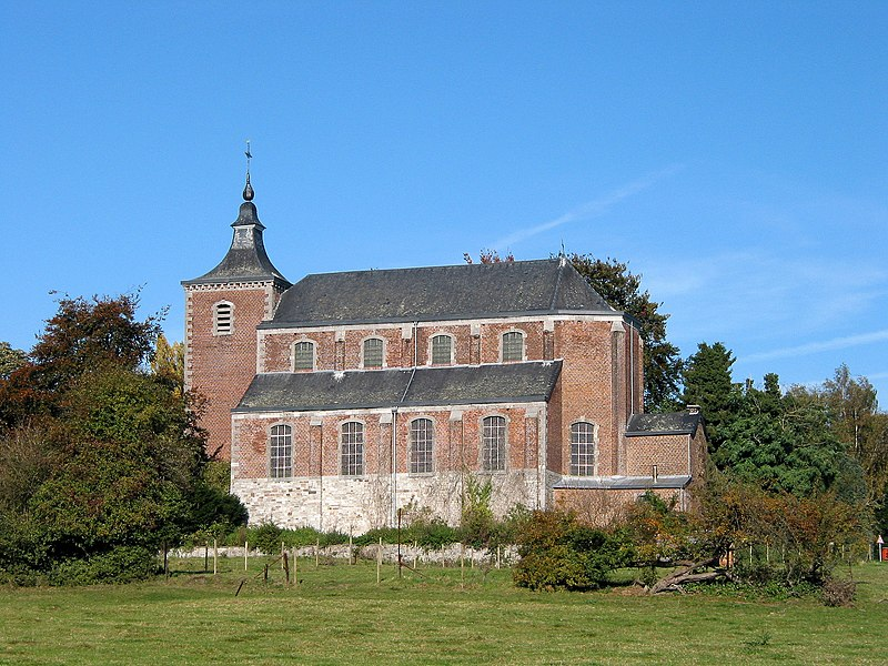 Héron (Belgium), the Saint Martin's church.