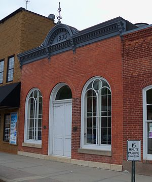 National Register of Historic Places listings in Pierce County, Wisconsin - Image: H.S. Miller Bank 1