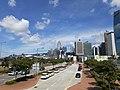 HK 中環 Central 海濱 Waterfront promenade 民耀街 Man Yiu Street 行人天橋 footbridge view July 2020 SS2 03.jpg