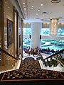 HK ISL Island Shangri-La Hong Kong 港島香格里拉酒店 hotel stairs view lobby hall Dec-2012.JPG