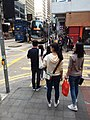 HK SW 上環 Sheung Wan 德輔道中 Des Voeux Road Central Cleverly Street February 2019 SSG 03.jpg