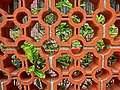 HK Sai Ying Pun Second Street red Brick wall 西苑 Western Garden April 2013.JPG