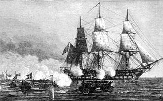 James Haldane Tait - HMS Africa in action