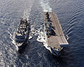 HMS Illustrious Refuelling from FS Somme MOD 45155926.jpg