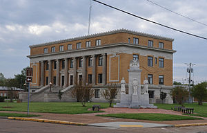 Humphreys County, Mississippi - Image: HUMPHREYS COUNTY COURTHOUSE, HUMPHREYS COUNTY, MS