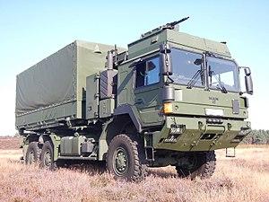 RMMV HX range of tactical trucks - Image: HX42M