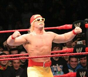 Charlie Haas - Haas in November 2008 as Haas Hogan, a parody of Hulk Hogan.