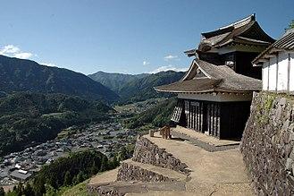 Shisō, Hyōgo - Image: Haga Castle 01