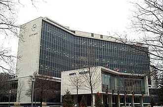 Hamilton City Hall - Hamilton City Hall (winter)