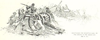 Cemetery Hill - Hand to hand fighting over Rickett's guns