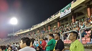 Melaka United - The fans during a match.