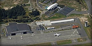 Southwest Oregon Regional Airport - Hangar/Ramp Area