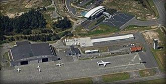 Southwest Oregon Regional Airport - Hangar/Ramp Area