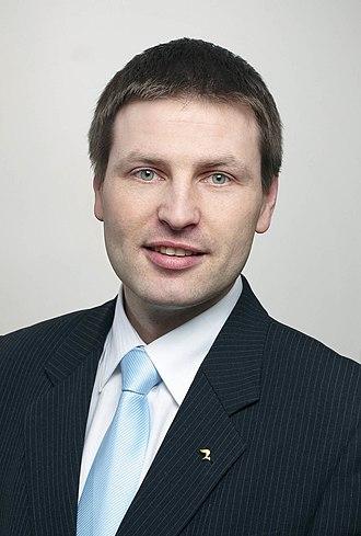 Estonian parliamentary election, 2019 - Image: Hanno Pevkur