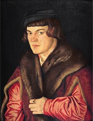 Hans Baldung - Self-Portrait