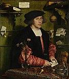 Hans Holbein der Jüngere - Der Kaufmann Georg Gisze - Google Art Project.jpg