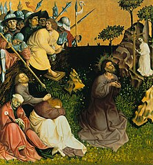 Christ on the Mount of Olives (Wurzach altarpiece)