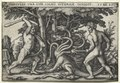 Hans Sebald Beham - The Labors of Hercules- Hercules Killing the Lernean Hydra - 1923.120.7 - Cleveland Museum of Art.tif