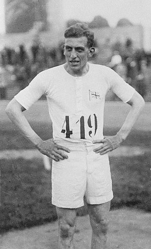 Harold Abrahams - Harold Abrahams at the 1924 Olympics