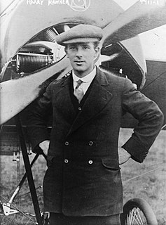 Harry Hawker Australian aviation pioneer