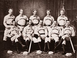 Hartford Dark Blues - 1875 Hartford Dark Blues.