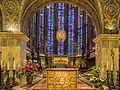 Hauptaltar mit Marienschrein - Innere des Aachener Dom - Aachen - Nordrhein-Westfalen - Deutschland (21776757089).jpg