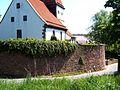 Hausen an der Würm-Ansicht von Südwesten mit Kirche über Kirchhofmauer-110508.jpg