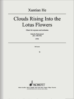 <i>Clouds Rising Into the Lotus Flowers</i>