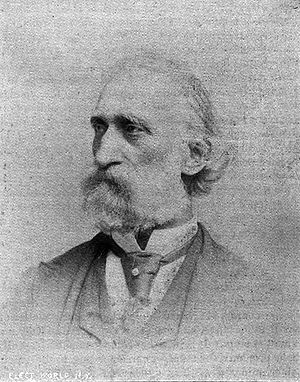 Heinrich Göbel - Henry Goebel, first published photo January 1893