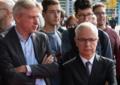 Heinrich Riethmüller und Juergen Boos auf der Frankfurter Buchmesse 2017.png