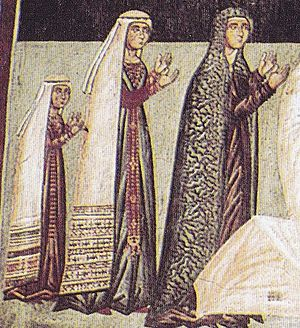 Charlotte, Queen of Cyprus - Charlotte with her sister and mother