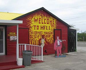 Hell, Grand Cayman - Hell's Gift Shop, Hell, Grand Cayman island