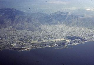 1938-2001 international airport serving Athens, Greece