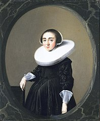 Portret van Anna Hooftman (1613-na 1645)