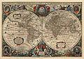 Hendrik Hondius, Nova Totius Terrarum orbis Geographica ac Hydrographica Tabula 1641.jpg