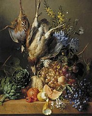 Still Life with Fruit, Vegetables and Poultry