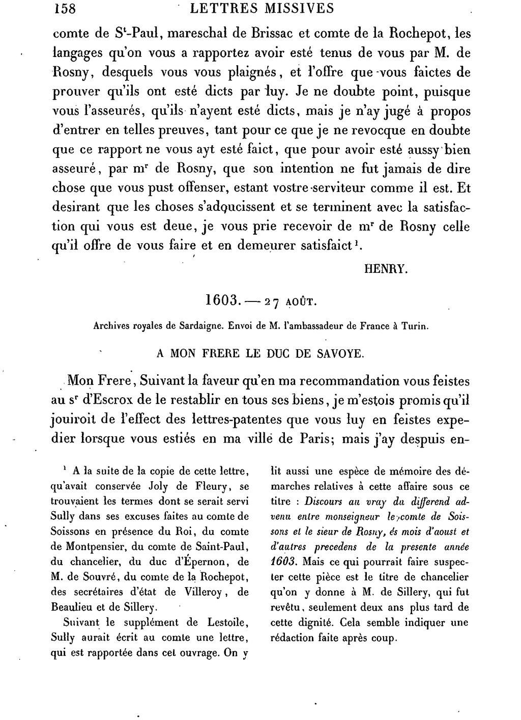 Pagehenri Iv Lettres Missives Tome6djvu170 Wikisource