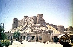 Afghanistan, herat, la citadelle en 1969