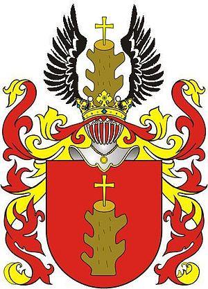 Wespazjan Kochowski - Nieczuja - the coat of arms of Kochowski family