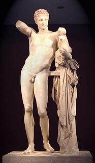 sculpture by Praxiteles