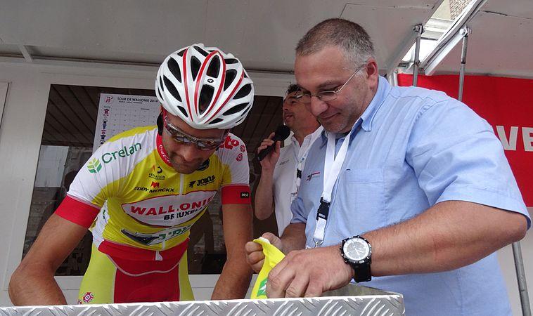 Herve - Tour de Wallonie, étape 4, 29 juillet 2014, départ (C18).JPG
