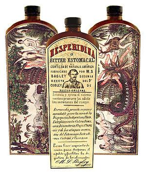 Hesperidina - Image: Hesperidina bottleart