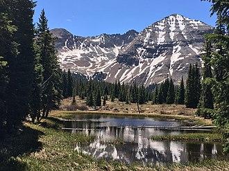 Hesperus Mountain (Colorado) - Hesperus Mountain in Spring
