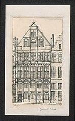 Het Gildenhuis van de lakenbereiders op de Grote Markt
