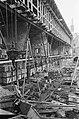 Het voormalig Burgerweeshuis wordt gerestaureerd, enorme ravage op binnenplaats, Bestanddeelnr 921-1365.jpg