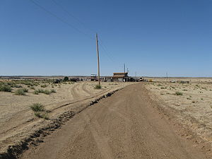 High Plains (United States) - Image: High Plains in Oklahoma west of Guymon